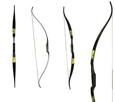 New Archery Rolan Snake Recurve Bow 60'' Polymer Composite - Right & Left Hand