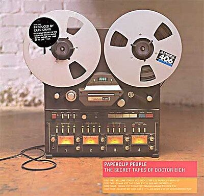 Paperclip People (CARL CRAIG) – The Secret Tapes Of Doctor Eich : Open CD 1997