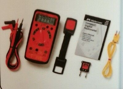 Meterman Digital Multimeter with Non-Contact Voltage Detection & Temperature