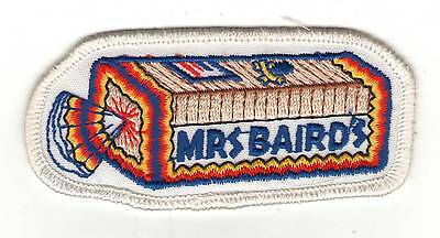 Mrs Baird's Bread Patch Bakery Baking Vintage Embroidered Retro