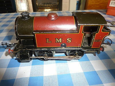 Vintage Hornby 0 Gauge Locomotive LMS 2270 clockwork in good working order.