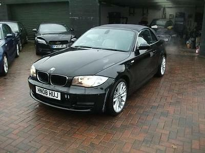 2008 BMW 125i SE 3.0 CABRIOLET VERY LIGHT DAMAGE SALVAGE DAMAGED REPAIRABLE