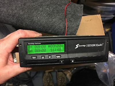 Stoneridge SE5000 Exakt Digital Tachograph Tacho, 12v and 24v