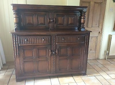 Jacobean style sideboard