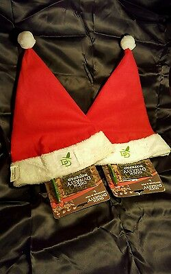 New With Tags Duck Dynasty Santa Claus Hat W/ Red Trim W/ Notepad & Pen