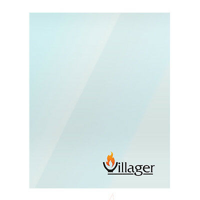 Replacement Stove Glass For Villager Stoves Heat Resistant - Various Models