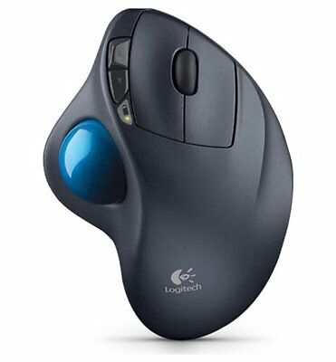 Logitech M570 Wireless Trackball cordless Mouse with Unifying Receiver, PC&Mac