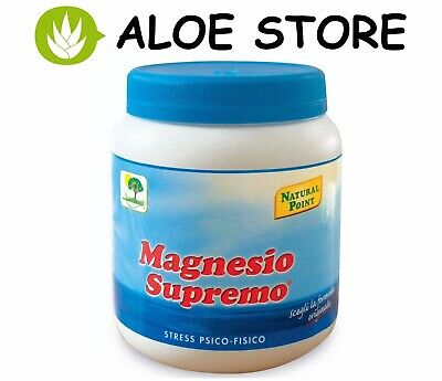 MAGNESIO SUPREMO 300gr NATURAL POINT - CONTRO LO STRESS PSICO-FISICO