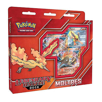 Pokemon Legendary Battle Deck - Moltres EX - Trading Card Game