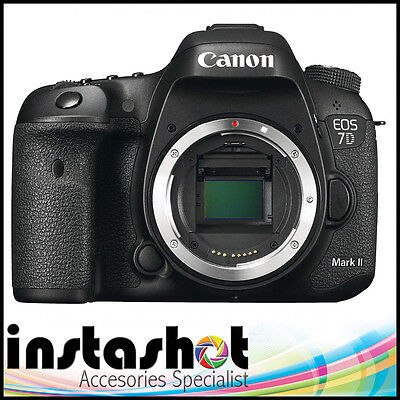 Canon EOS EOS 7D Mark II 20.2MP Digital SLR Camera - Black (Body Only)