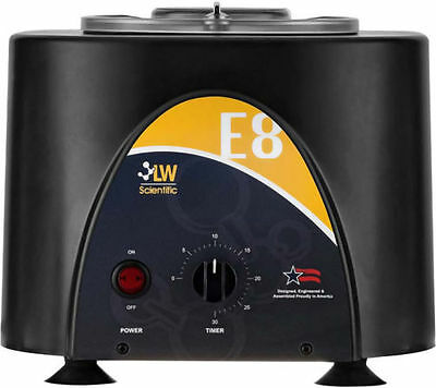 *NEW* LW Scientific USA E8 Fixed Speed 8 Tubes (3-15ml) Table Top Centrifuge