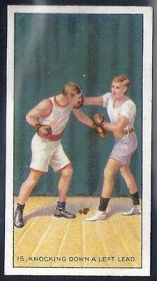 Carreras-The Science Of Boxing Series (Black Cat Back)-#15- Quality Card!!!