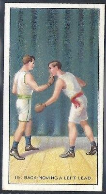 Carreras-The Science Of Boxing Series (Black Cat Back)-#19- Quality Card!!!