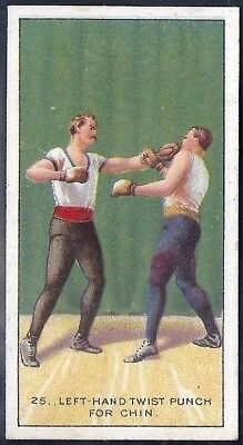 Carreras-The Science Of Boxing Series (Black Cat Back)-#25- Quality Card!!!