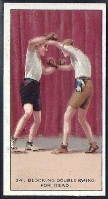 Carreras-The Science Of Boxing Series (Black Cat Back)-#34- Quality Card!!!