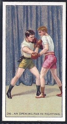 Carreras-The Science Of Boxing Series (Black Cat Back)-#36- Quality Card!!!