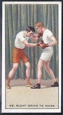 Carreras-The Science Of Boxing Series (Black Cat Back)-#42- Quality Card!!!