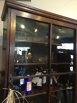 Georgian Glass Cabinet Bookcase Display Cabinet Cupboard