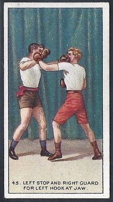 Carreras-The Science Of Boxing Series (Black Cat Back)-#45- Quality Card!!!