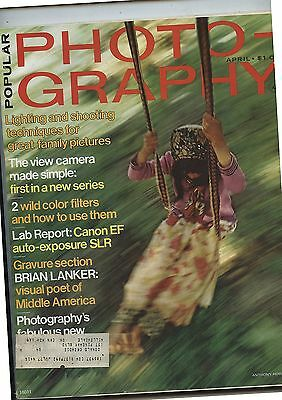 Old April 1975 Popular Photography Magazine