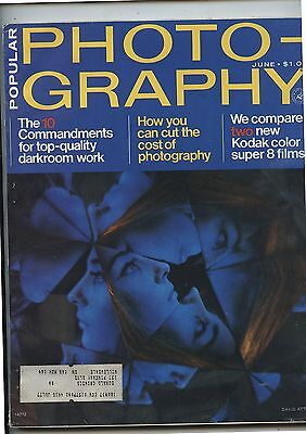 Old June 1975 Popular Photography Magazine