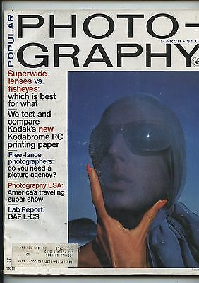 Old March 1975 Popular Photography Magazine