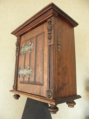 antique furniture Wood old Wall Shelf Shelving Display Shelf Cabinet century vtg