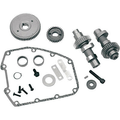 S&S Cycle 585G Grind Gear Drive Cam Kit for 2006-2016 Harley Twin Cam Dyna