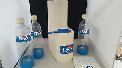 NSA Sparkling Water System Make Carbonated Beverages At Home CO2
