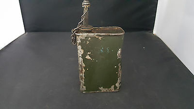 Ww2 Us Military Browning Mg Oil/lube Can Oiler  30 50 Cal Us Army Usmc