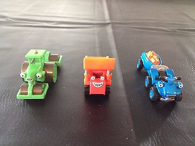 Bob The Builder, Take Along Vehicles, Diecast & Plastic