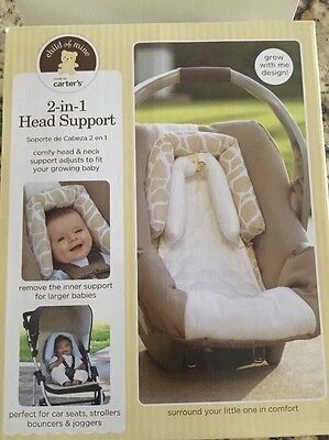 Carter's 2-in-1 Head Support For Car Seats And Strollers