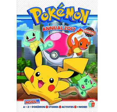 Pokemon Official Annual 2017 - Hardback Guide Book - Stories Activities And More