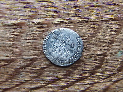 CHARLES 1st 1625-1649  SILVER PENNY. SCARCE.   A SUPERB LITTLE PORTRAIT COIN.