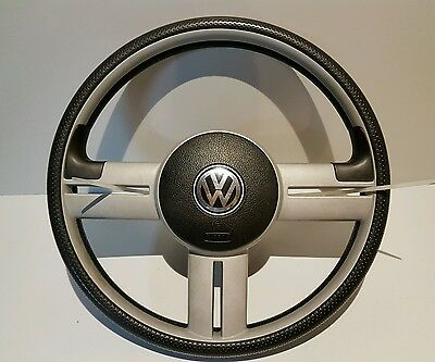 VW Lupo 3L Steering Wheel RARE ! With Airbag !