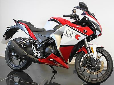 2014 14 Wk Sp 125 Ss White Knuckle Sport Project/spares/repair/trade Sale Cat C