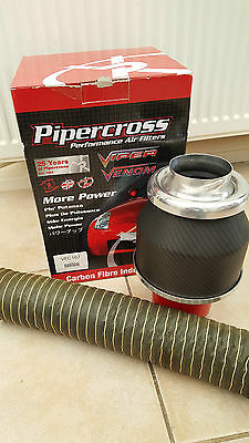 Audi Tt 225 Pipercross Carbon Fire Induction Kit Vfc 167 Piper Cross Used Ex Con