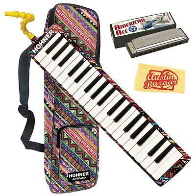 Hohner Airboard 37 Melodica w/ Harmonica