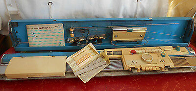 Brother Profile 588 Knitting Machine With Manual