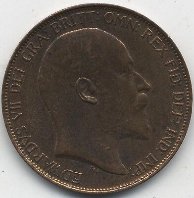 1902 Edward VII One Penny***Collectors***High Grade***