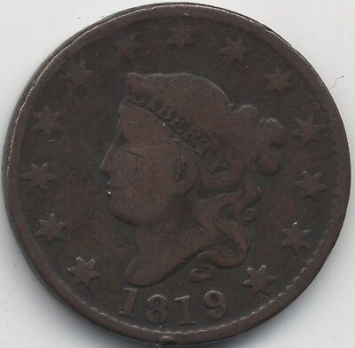 1819 U.S.A. One Cent***Collectors***