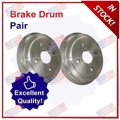 Premium Rear Brake Drums (Pair) for Suzuki Swift 1.3 (04/05-03/11)