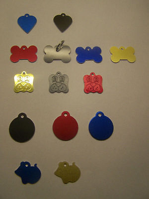 Cat and Dog Tags - Fast Postage - NAME AND NUMBER