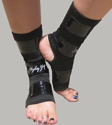 Black Tack Mighty Grip Ankle Protectors Small