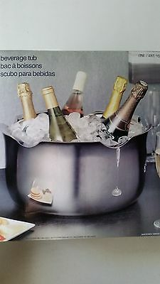 Stainless Steel  Beverage Tub 13L Free Postage Superfast Delivery!!