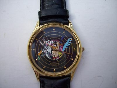 Warner Brothers Armitron 1990 Looney Tunes Watch Works