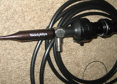 Welch Allyn Video Otoscope Camera 20580 With Camera & Lightsourse Cables