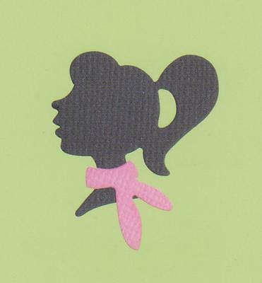 Quickutz Girl Silhouette die - for use in most cutting systems.