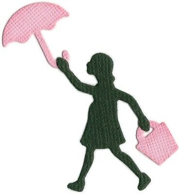 Quickutz woman & umbrella die - for use in most cutting systems