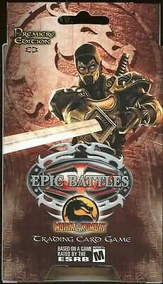 Epic Battles Mortal Kombat 2 Player Starter Deck